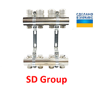 Коллектор SD Group на 4 выхода без расходомеров