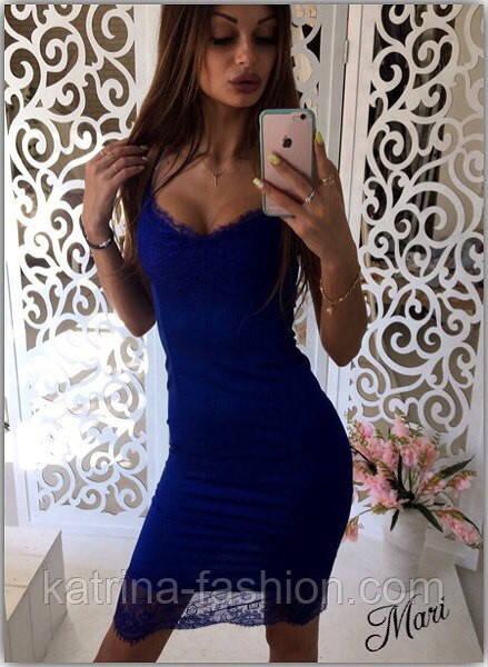 99b872e8f6b Женское шикарное платье по фигуре с кружевом и декольте (7 цветов ...