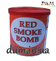 Цветной дым Smoke bomb красный, напольный
