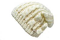 Утепленная женская шапка