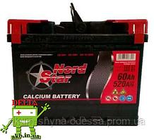 Аккумулятор NORD STAR 6СТ- 60Ah 520A L