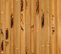 Бамбуковые обои  черепаховые темные с пропилом 17/8 , ширина 250 см.