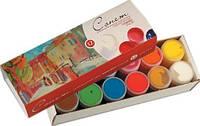 Набор гуашевых красок Сонет 12 цветов по 40 мл картонная коробка ЗХК «Невская палитра»