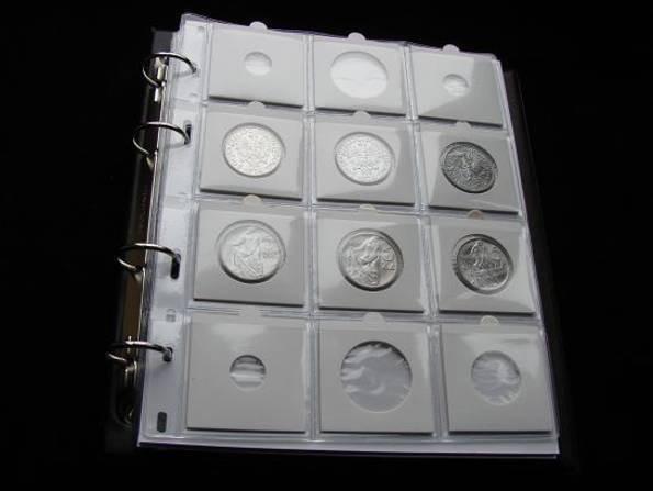 Альбом для  монет в холдерах Шульц 120 ячеек