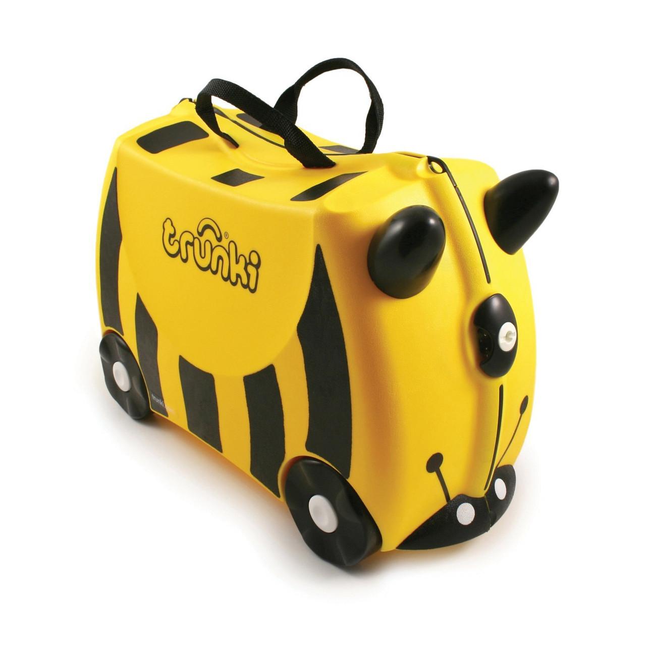 Детский дорожный чемоданчик Trunki Bernard Bee