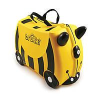 Детский дорожный чемоданчик Trunki Bernard Bee, фото 1
