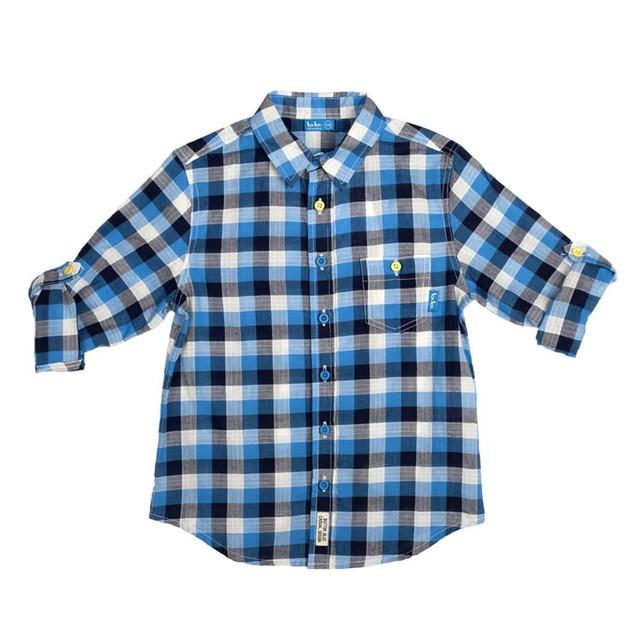 Рубашка на мальчика в школу