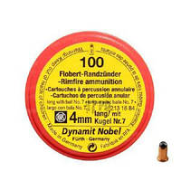 Патроны Флобера Dynamit Nobel (Германия) 100 шт/уп