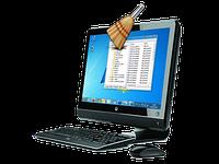 Удаление временных файлов, чистка реестра, устранение воздействия компьютерных вирусов на систему ноутбука
