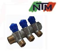 Колектор вентильний NTM на 3 виходи