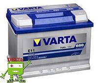 Аккумулятор VARTA 74A Blue Dynamic 680A (EN) E11 574012068