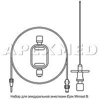 """Набор д/епидуральной анестезии """"EPIX MINISET B"""", APEXMED, G16,18 зі шприцом втрати опору"""