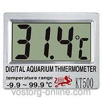 Наружный аквариумный термометр КТ-500, Инвентарь для аквариума, уход за аквариумными рыбками