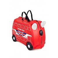 Детский дорожный чемодан Trunki English Bus 2015, фото 1