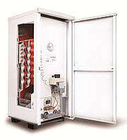 Газовый котел напольный одноконтурный дымоходный ATON АОГВМ 12.5 Е