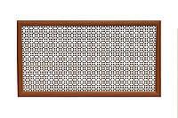 """Решетка (экран) для батарей """"Классик"""", цвет белый, из ХДФ и МДФ 68 см х 98 см х 1,8 см  белый"""