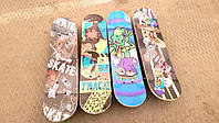 Скейт (скейтборд) - детский 60 х 15 см доска - клен