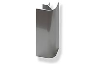 Угол алюминиевый 135* к цоколю на 100мм