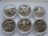 Капсулы для монет 31,1 мм (юбилейные рубли СССР) 10 шт.