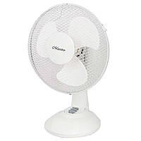 """Вентилятор настольный 9"""" (GRID) Maestro MR903 22044R, настольный вентилятор maestro, вентилятор для дома"""