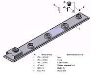 Панель косилки КРН-2.1