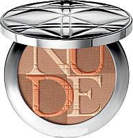 Мгновенно осветляющая пудра Diorskin Nude Shimmer № 002