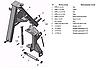 Рама навески косилки КРН-2.1