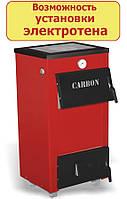 Котел на твердом топливе Carbon КСТО-18 П (с плитой 18 квт)