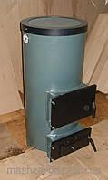 Котел одноконтурный на твердом топливе КОТВ-14 (круглый), фото 1
