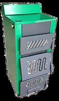 Одноконтурный котел на твердом топливе КОТВ-18М с тремя дверцами