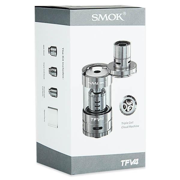 SMOK TFV4 (24,5mm, полный комплект) - Атомайзер для электронной сигареты. Оригинал