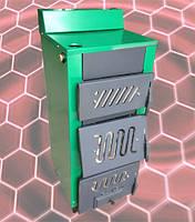 Котел твердотопливный Огонек КОТВ-18МВ  (трехдверный, двухконтурный), фото 1