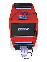Котел твердотопливный Carbon КСТО-31ДГ -длительного горения (31 кВт-4мм)