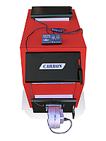 Котел твердотопливный Carbon КСТО-16ДГ -длительного горения (16 кВт-4мм)