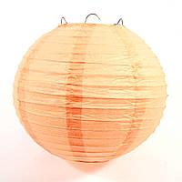 Шар (25 см) декоративный из папирусной бумаги 2719