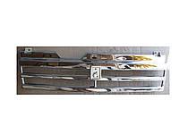 """Решетка радиатора (хром) """"длинное крыло"""" ВАЗ 2108,ВАЗ 2109,ВАЗ 21099"""