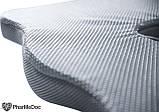 Ортопедическая подушка PharMeDoc Coccyx Seat Cushion для сидения, серая., фото 2
