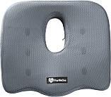 Ортопедическая подушка PharMeDoc Coccyx Seat Cushion для сидения, серая., фото 3