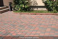 Тротуарная плитка Красная( Коллекция Старый Город)
