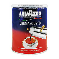 Кофе Lavazza Crema e Gusto молотый жб 250г