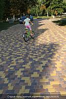 Тротуарная плитка Коричневый( Коллекция Старый Город)