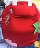 Пеленка и подушка оптом для новорожденных красный