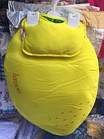 Пеленка и подушка оптом для новорожденных желтый, фото 1