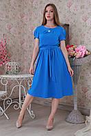 Нежное красивое женское легкое летнее платье р. 48, 50, 52.