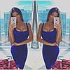 Облегающее трикотажное платье-майка с декольте, фото 6