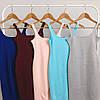 Облегающее трикотажное платье-майка с декольте, фото 8