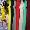 Облегающее трикотажное платье-майка с декольте, фото 10