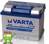 Аккумулятор Varta BLUE dynamic D43 60Аh 540A 560127054