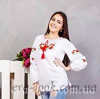 Женская вышитая рубашка на длинный рукав., фото 1