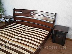 """Кровать двуспальная """"Каприз"""". Массив - сосна, ольха, береза, дуб., фото 3"""